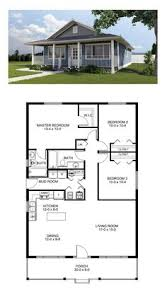 plan of a house floor plan for a small house 1 150 sf with 3 bedrooms and 2 baths