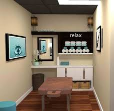 Spa Decorating Ideas For Business Treatment Room Layout Nice Lighting And Storage Gorgeous And