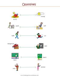 worksheet preschool opposites worksheet wosenly free worksheet