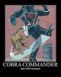 Cobra Commander Meme - damn cobra that s cold very demotivational demotivational