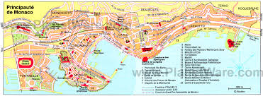monte carlo map 17 top tourist attractions in monaco easy day trips planetware