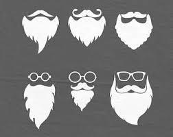 santa beard santa beard svg dxf etsy