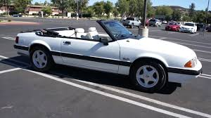 1991 ford mustang 5 0 convertible 1 owner mint for sale youtube