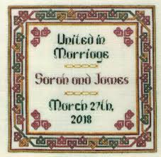 chuppah dimensions wedding cross stitch patterns kits 123stitch