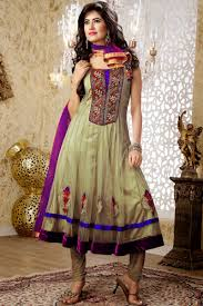 wedding indian anarkali dress by designer trendy mods com