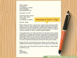 how to write a letter asking to volunteer with sample letters
