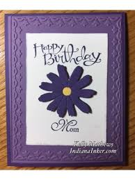 indiana inker birthday card for mom