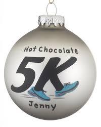 5k runner personalized ornament