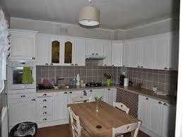 cuisine repeinte en blanc vieille cuisine repeinte photos décoration de cuisine blanc brun