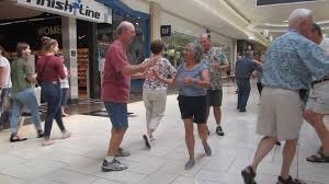 18 square dance flash mob 3 at park city mall dan koft calling