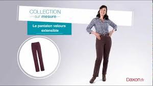 Daxon Pantalon Femme by Le Pantalon Velours Extensible Daxon Youtube