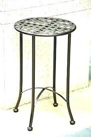 folding outdoor side table garden side table metal subliminally info