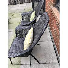 Pottery Barn Wicker Pottery Barn Indoor Outdoor Wicker Chair Aptdeco