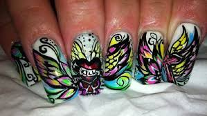 creative nail art ideas with amazing tattoo nails coodots