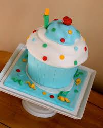 sam u0027s 1st birthday giant cupcake cake the couture cakery