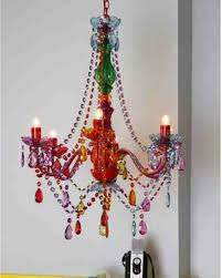 How To Make A Beaded Chandelier Update An Old Chandelier With Colorful Beads Do It Yourself Fun
