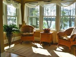 Swag Curtains For Living Room Sunroom Curtains Good Solution For Multiple Windows Close