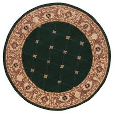 home decorators area rugs home decorators collection windsor hunter green 8 ft round area