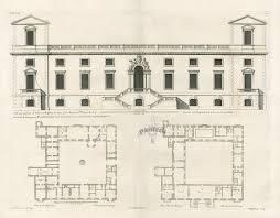 historical house plans vitruvius britannicus architectural prints from 1715 by colen
