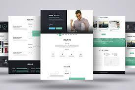 Web Resume Template I Am X Psd U0026 Html Web Resume Template Heydesign Com