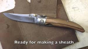 building a folding knife youtube