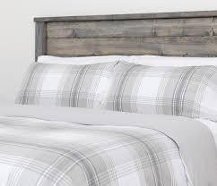 Flannel Duvet Covers Bedroom Wooden Headboard Design Ideas Combined With Flannel Duvet