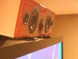 In Ceiling Center Channel Speaker by Kareface U0027s Home Theater Gallery Home Theater 159 Photos