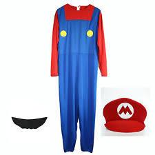 mens fancy dress costumes mario ebay