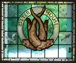 Stained Glass Door Panels by Otter House Stained Glass Door Panel Stained Glass Artists