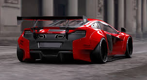 widebody cars widebody mclaren 650s body kit by liberty walk car such