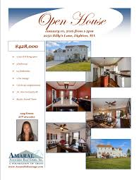 open house today january 10 2016 from 1pm 3pm at 2050 billy s open house flyer2