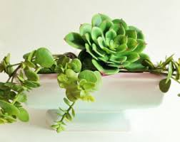 Ceramic Succulent Planter by Ombre Planter Etsy