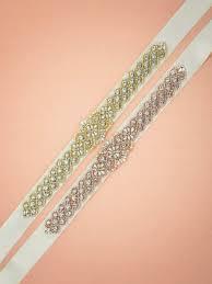 bridal sash willa pearly satin bridal sash 14 99 aw bridal