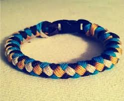 make bracelet with paracord images How to tie a 4 strand paracord braid with a core and buckle 14 jpg