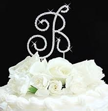 monogram wedding cake topper monogram wedding cake toppers silver