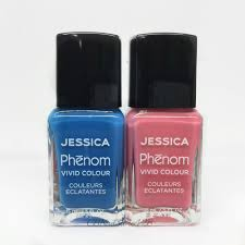 jessica phenom nail lacquer 0 5oz set of 2 bottles color base