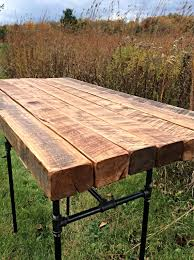 Reclaimed Wood Bar Table The Butchers Choice Reclaimed Wood Bar Table Pub Table Butcher