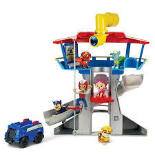 amazon com paw patrol look out playset toys u0026 games