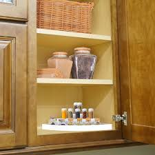 corner kitchen cabinet liner hastings home 3 tier corner organizer plastic space saver countertop pantry and cabinet storage shelf with non slip liner white