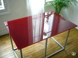 bureau table verre table conforama bureau table en verre table de bureau en verre