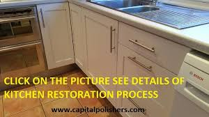 capital polishers ltd furniture spraying kitchen spraying Paint For Kitchen Cabinets Uk