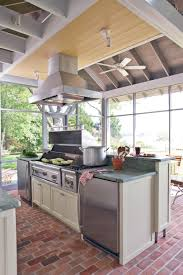 southern living outdoor kitchens kitchen cabinets