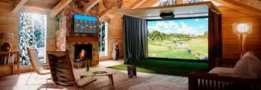 Pictures For Home Indoor Golf Simulator Hd And Full Swing