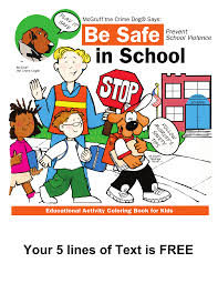 mcgruff the crime dog internet safety coloring book mcgruff