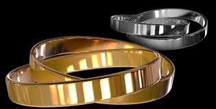 gold or silver wedding rings wedding rings gold or silver animated loopable by matzunaga