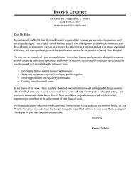 Cover Letter Resume Examples by Cover Letter Example For Waitress Job Cover Letter Sample For
