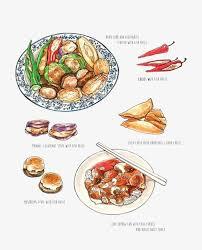 dessin recette de cuisine dessin de repas chinois cuisine chinoise recette cuisine image
