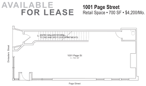 Coffee Shop Floor Plans Retail Space For Lease Next Door To New Sightglass Coffee Shop