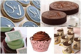 monogram cupcake toppers louisville wedding the local louisville ky wedding resource