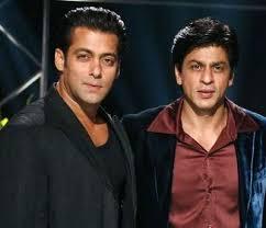 Salman and Shahrukh Khan